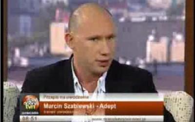 """Adept w programie """"DZIEN DOBRY TVN""""  X 2007"""